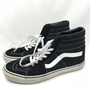 ee670af916 Vans Shoes - Vans Sk8 Hi High Top Black Original Sneaker 9.5 11